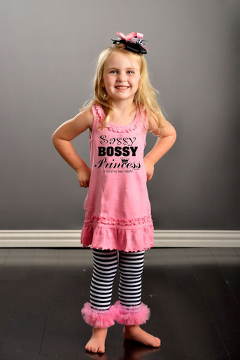 Sassy Bossy Princess Dress