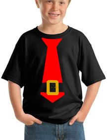 Santa Buckle Tie Tee