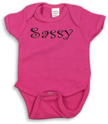 Sassy Onesie