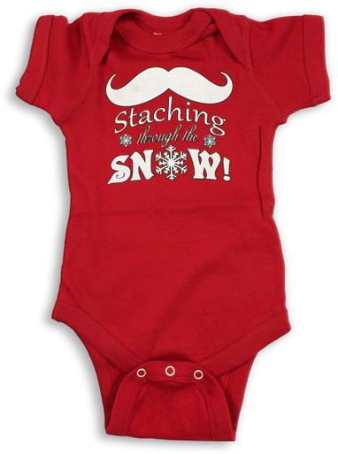 Staching Snow Onesie