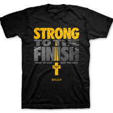 Kerusso Strong To The Finish Christian Tee