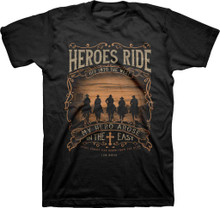 Kerusso Heroes Ride Off Into The West Christian Western Shirt
