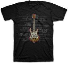 Amazing Guitar Christian Tee by Kerusso based on Amazing Grace