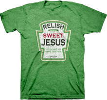 Relish Sweet Jesus Adult Christian Tee by Kerusso