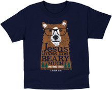 Kids Beary Much T-Shirt by Kerusso