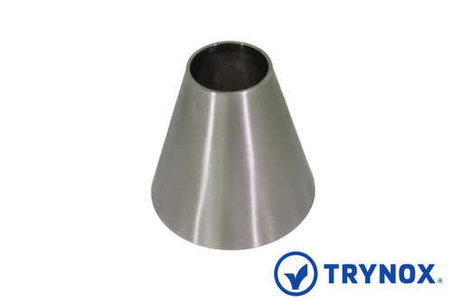Trynox sanitary din welding concentric reducer