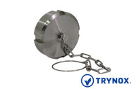 Trynox Sanitary DIN Blind Nut With Chan