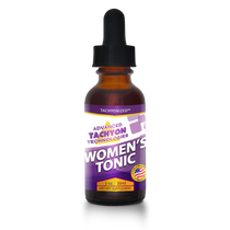 Tachyonized Women's Tonic is a Tachyon energy product that helps restore normal estrogen/progesterone, endocrine balance to female sex hormones and helps relieve hot flashes and sweats from menopause.