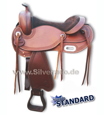 """Silverado """"CS"""" in medium brown"""