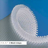 3 Mesh is a high-quality, hard-wearing pressure dividing material  with several unique qualities and optimum durable elasticity.  Highly shock absorbing, shape adjustable, the honeycomb shaped  structure guarantees evenly distributed pressure in all directions  and optimum ventilation.