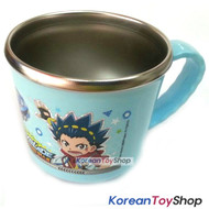 BeyBlade Burst Stainless Steel Cup w/ Non-Slip Pad BPA Free Made in Korea