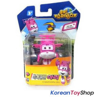 Super Wings Mini Transformer Robot Toy ARI / Korean Animation Pink Airplane