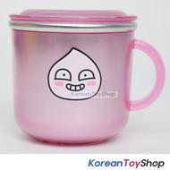 KAKAO Friends APEACH Stainless Steel Cup w/ Lid,Non slip Anti Slip Pads BPA Free