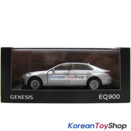 Hyundai Motors Genesis G90 EQ900 Diecast Metal Mini Car Toy 1/38 Silver Original