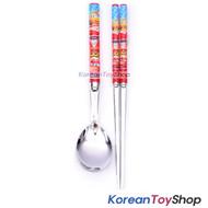 Disney Pixar Cars 3 Stainless Steel Simple Spoon Chopsticks Set BPA FREE