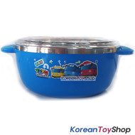 The Little Bus Tayo Stainless Steel Bowl 350ml w/ Lid Handle Non Slip Original
