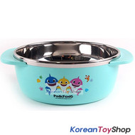 PINKFONG Stainless Steel Bowl Handle Non-slip BPA Free Original
