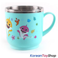 PINKFONG Stainless Steel Handle Cup w/ Non Slip Pads Made in Korea Original