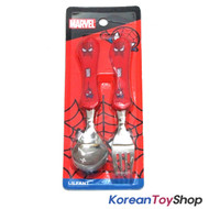Marvel Spider Man Wave Stainless Steel Spoon Fork Set Kids Children / BPA Free
