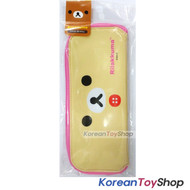 Rilakkuma Character Dining Tool Case with Zipper for Spoon Fork Chopsticks Ivory