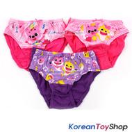 Pinkfong Toddler Girl 3-Pack Briefs Panties Underwear 12-24M 100% Cotton