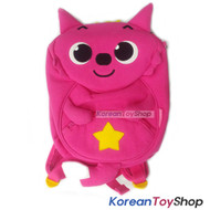 PINKFONG Cute Pink Backpack Bag Baby Kids String for No Missing Baby Original