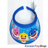PINKFONG Visor Hat Sun Cap Kids Blue Model Designed Made in Korea Original