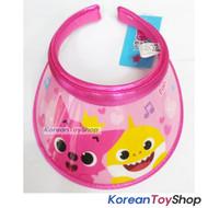 PINKFONG Visor Hat Sun Cap Kids Pink Model Designed Made in Korea Original