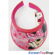 Disney Minnie Mouse Visor Hat Sun Cap Kids Girl Pink Original