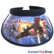 IRON MAN Visor Hat Sun Cap Kids Boy Designed by Korea Dark Blue