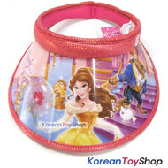 Disney Beauty and the Beast Visor Hat Sun Cap Kids Girl ROSE N.03