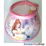 Disney Beauty and the Beast Visor Hat Sun Cap Kids Girl Pink Clock N.02