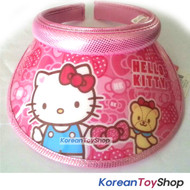 Hello Kitty Visor Hat Sun Cap Kids Girl Kitty Bear doll Model Designed by Korea