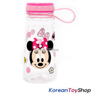 Disney Minnie Mouse Tritan Handle Water Bottle 450ml BPA Free Made in Korea