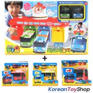 The Little Bus Tayo Main Garage + 5 Buses (Tayo Rogi Gani Rani Cito) Package