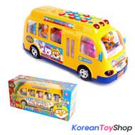 PORORO Educational Big Bus Toy Theme Children Songs Voice LED English Korean