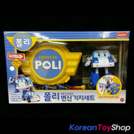 Robocar Poli Transformer Deluxe Model + Garage Carrier Set