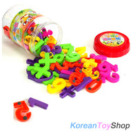 Magnetic Numbers Letters Jar 75pcs High Quality