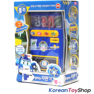 Robocar Poli Talking Vending Machine Toy w/ Sound LED Flashing Effect Kids