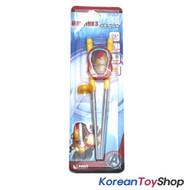 Marvel IRON MAN 3 Training Chopsticks Stainless Steel Avengers BPA Free Step 2