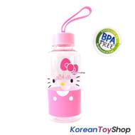 Hello Kitty Tritan Water Bottle w/ Silicone Handle / BPA Free / Made in Korea