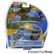 Robocar Poli TRACKY Diecast Metal Figure Toy Car Tractor Academy Genuine