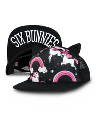 Six Bunnies Kid's Rainbows Cap  SB-CAP-00063