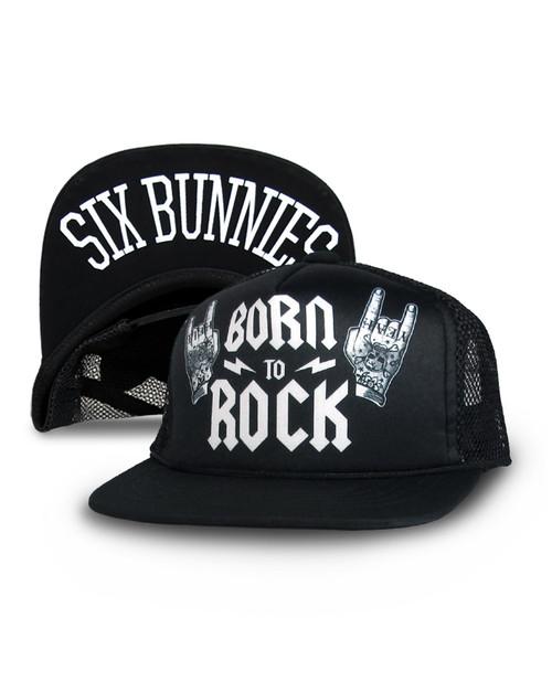 Six Bunnies Kid's Born To Rock Cap  SB-CAP-00065