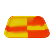 Canna Tonik Silicone Orange Yellow Dab Tray