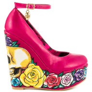 Calavera Rose Wedge IFL-WEG-537