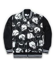 Skull And Chain Jacket Black GJK-003
