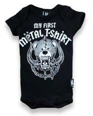 My First Metal Shirt Baby Romper  KK-198