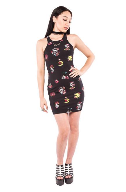 Mexican Moon Dress  IFW-004247
