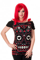Banned See No Evil Top  OBN-133